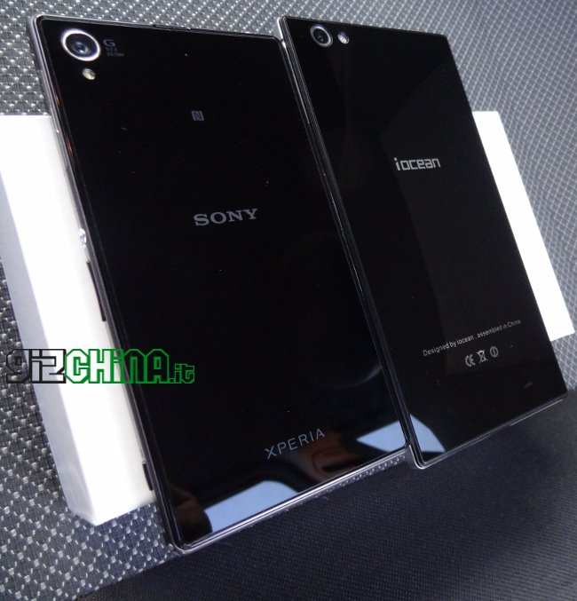 iOcean X8 e Sony Xperia Z1
