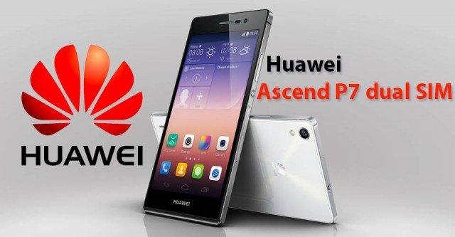 Huawei Ascend P7 с двойной SIM-картой