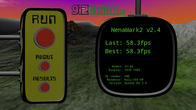Benchmark Nenamark2 su JiaYu G6