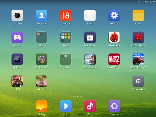 MIUI for tablet