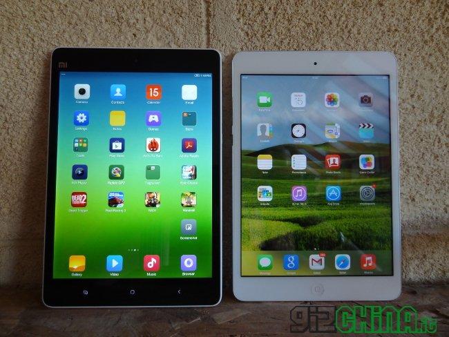 Mi Pad vs iPad Mini