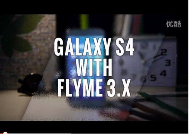 Flyme no Galaxy S4