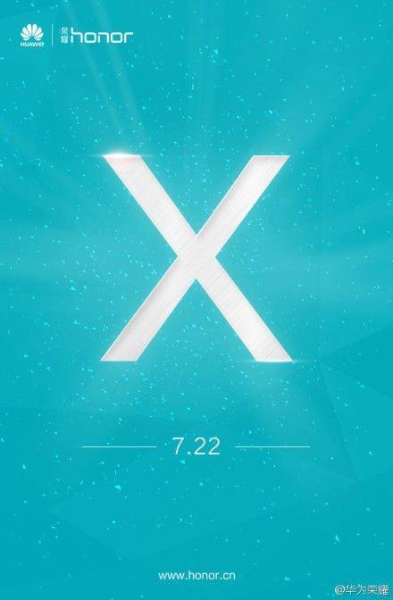 Huawei Honor X Teaser