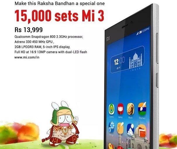 Xiaomi India Mi3