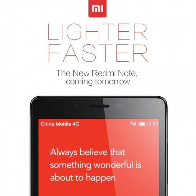 Xiaomi Redmi Notes LTE