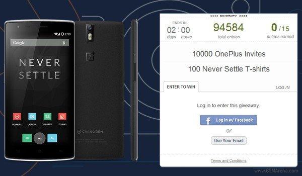 OnePlus One convites