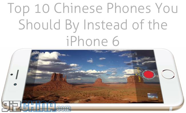 10 teléfono inteligente chino