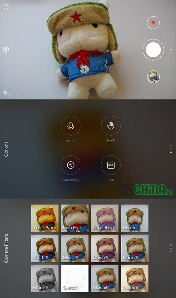 App Camera MIUI - Xiaomi Mi4