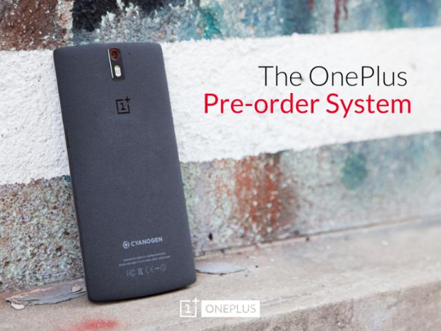 OnePlus One pre-ordini