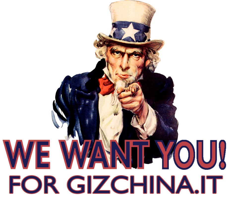 We want you for GizChina.it