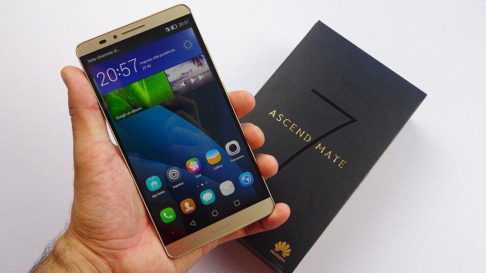 Huawei Ascend Mate 7 dual SIM, recensione completa di ...