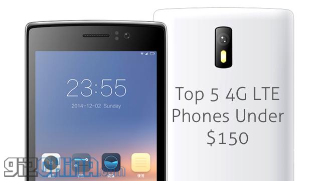 TOP 5 smartphone cinesi LTE low-cost
