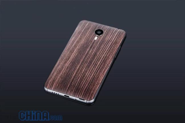 Meizu MX4 wood cover