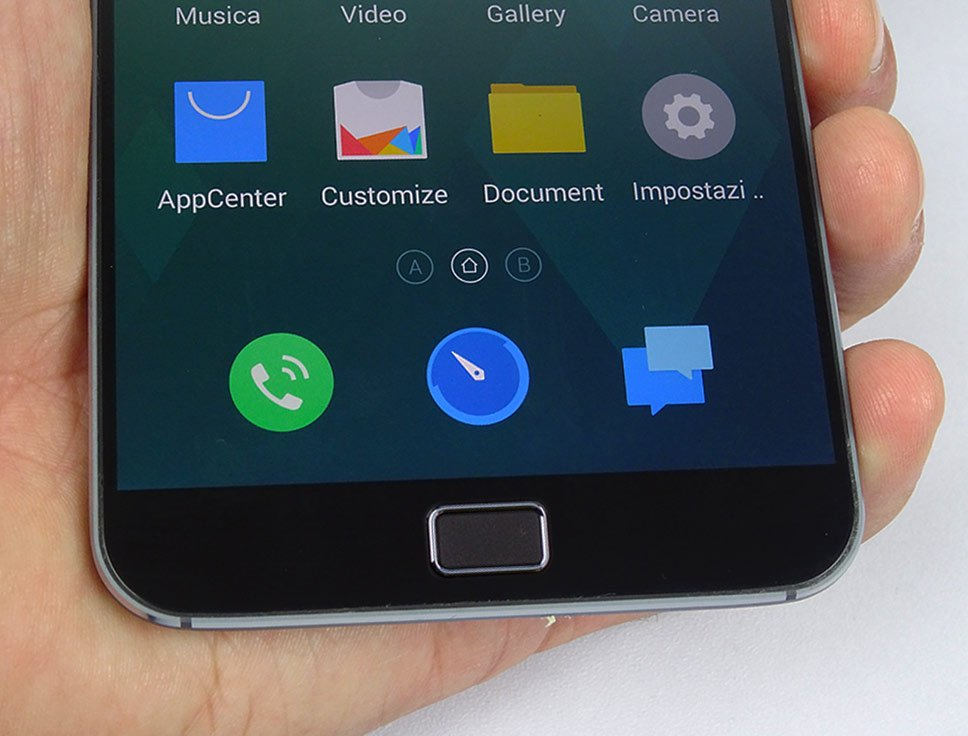 Meizu MX4 Pro botão quadrado