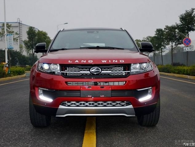 landwind  il clone cinese del range rover evoque gizchinait