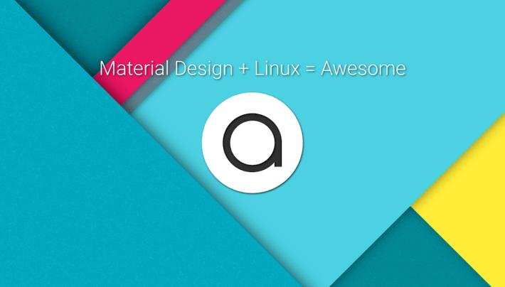 Material Design Quantum OS Linux