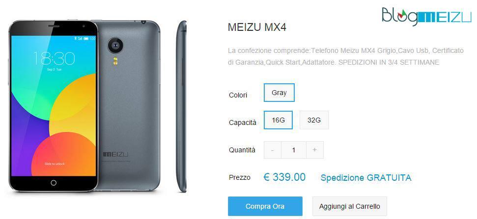 Meizu MX4 Meizu.it