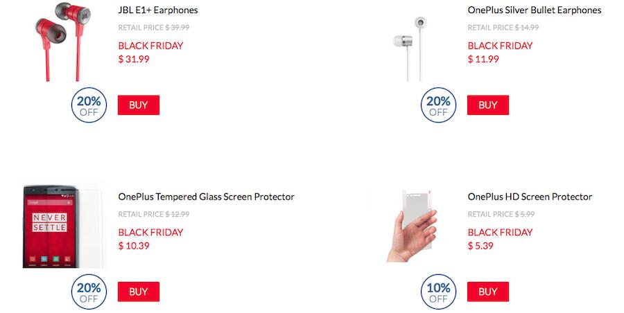 OnePlus sconti Black Friday