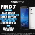 Oppo Find 7 Black Friday