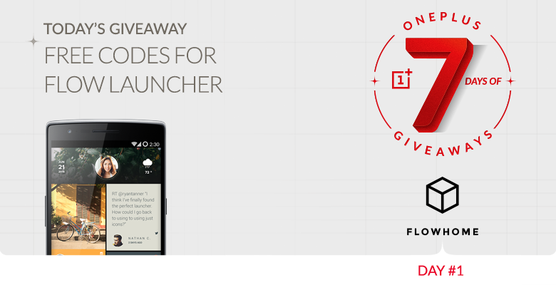 giveaway oneplus