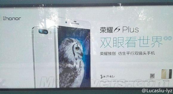 Huawei Honor 6 Plus bianco