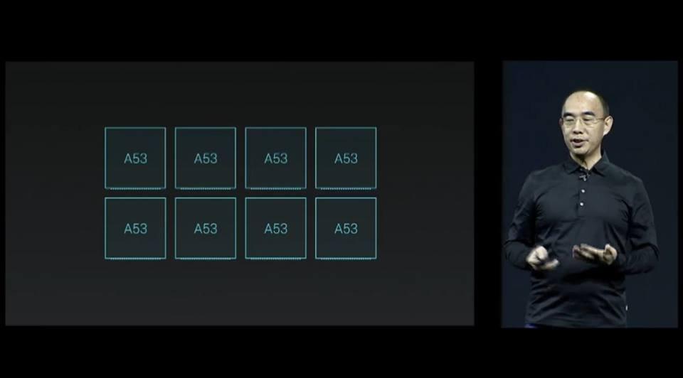 Meizu conferenza CPU