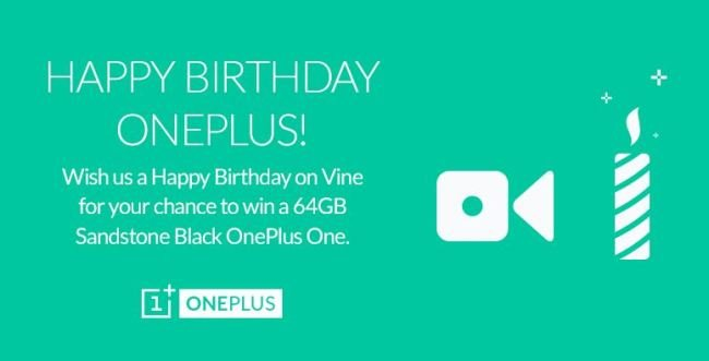 Concurso de aniversário OnePlus