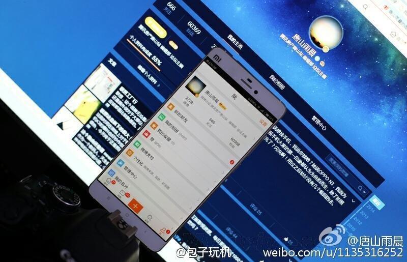Xiaomi Mi5 si mostra in una prima presunta foto reale