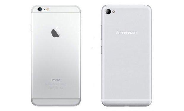 Lenovo Sisley S90 uguale ad iPhone 6