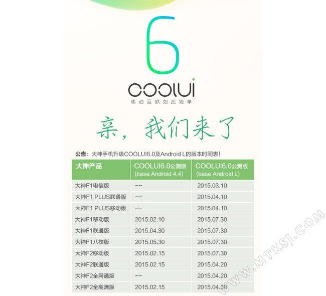 CoolUI 6 roadmap