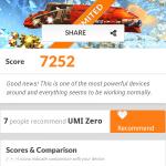 Benchmark 3DMark su UMi Zero