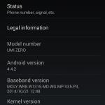 UMi Zero update