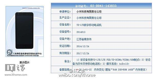 XIaomi Redmi 2 2GB