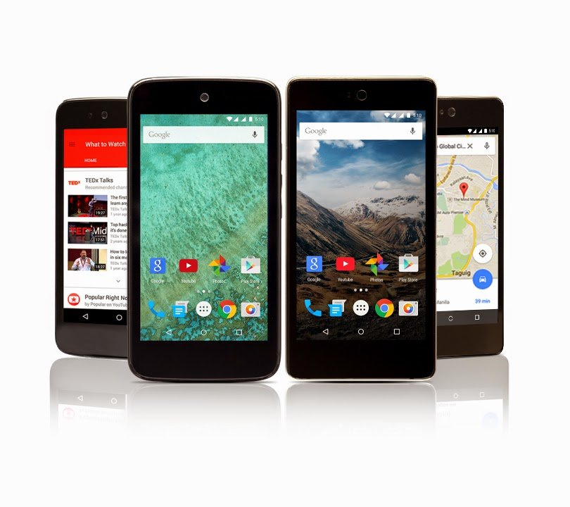 Android One Cherry One MyPhone Uno