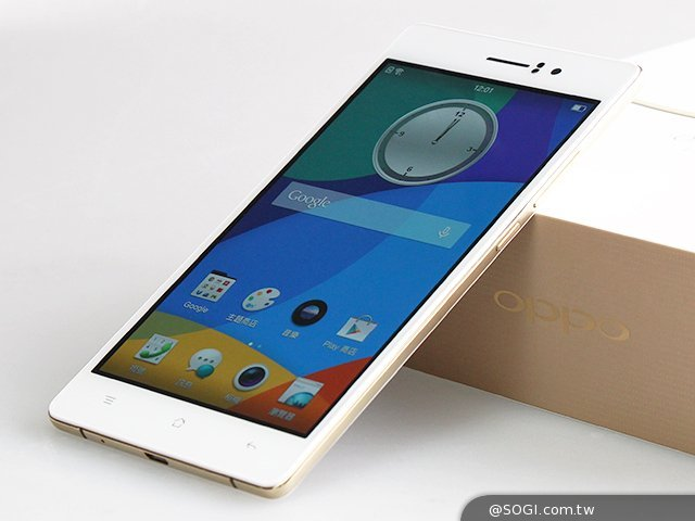 Oppo R5 Gold Limited Edition