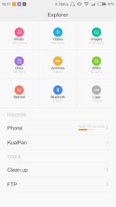 Xiaomi Redmi Note 3G MIUI 6 Beta
