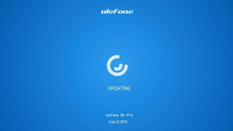 Atualização Ulefone Be Pro OTA