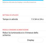 ZTE V5 Max batteria schermo