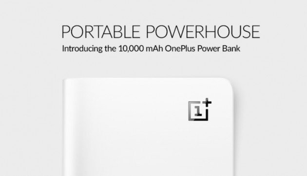 Banco de potência OnePlus