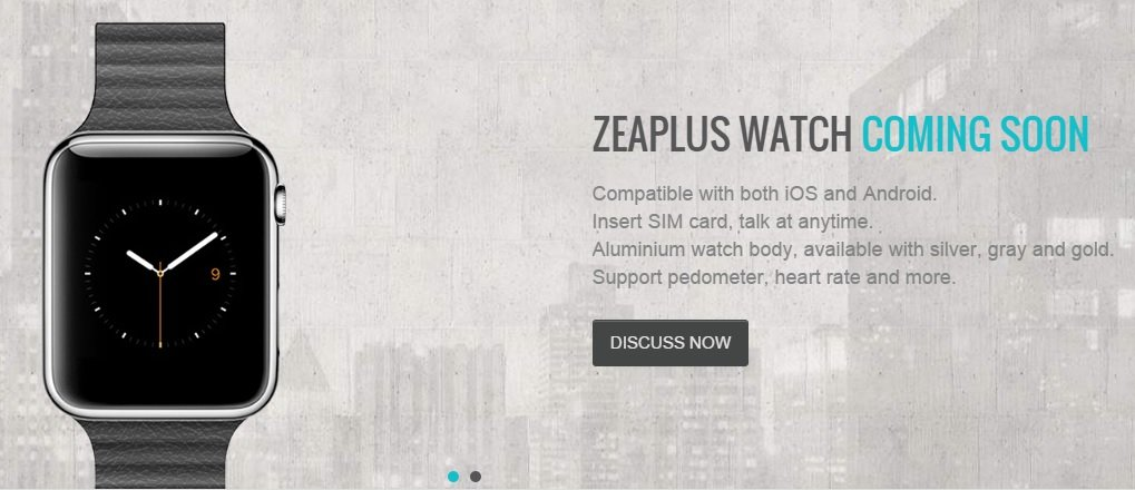 Reloj Zeaplus