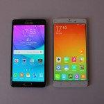 Note 4 vs Xiaomi Mi Note