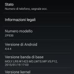 Zopo ZP530 OS