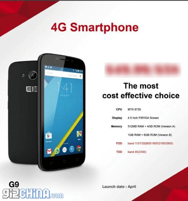 Elephone G9