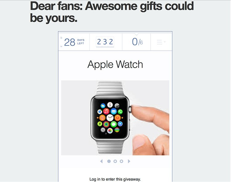 Contest Elephone - Apple Watch