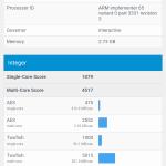 Huawei Mediapad X2 Geekbench