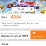 Elephone P7000 3DMark