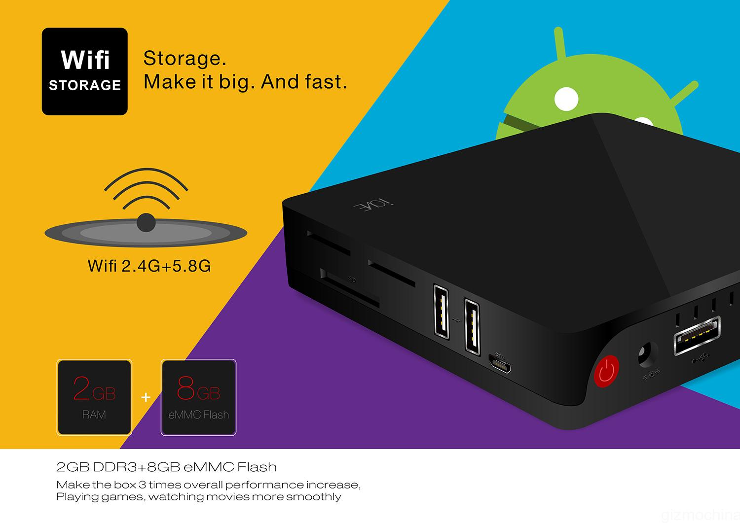 Beelink i68: powerful cheap TV Box with Android - GizChina it