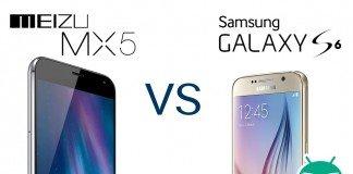 Samsung Galaxy S6 vs Meizu MX5