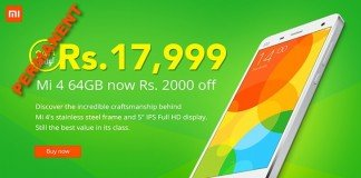 Xiaomi Mi4 India