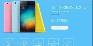Xiaomi Mi4i 32 GB